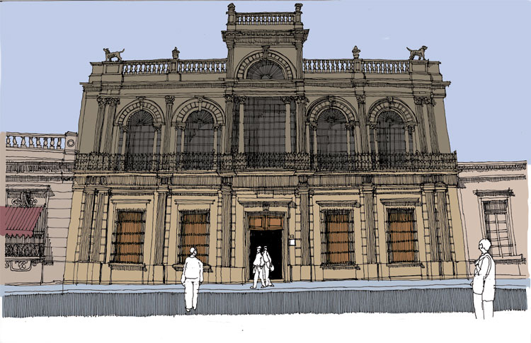 Arquitectura de la ciudad - Jorge Fregoso