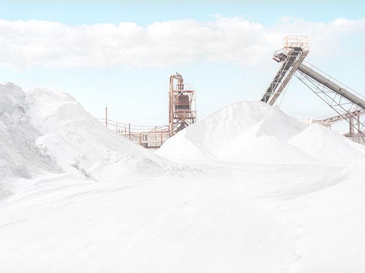 Llanura de la sal en Nullabor