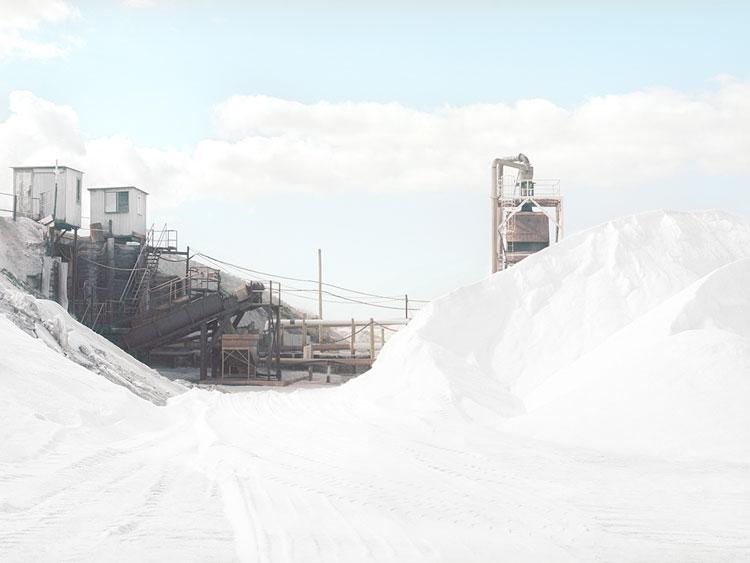 Fotografía de la sal en Nullabor