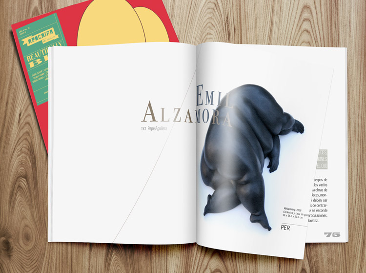 Escultura Apócrifa Art Magazine