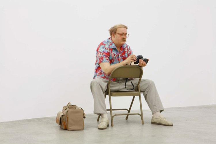 Escultura Duane Hanson