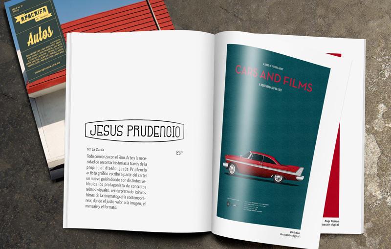 Jesús Prudencio - Apócrifa Magazine