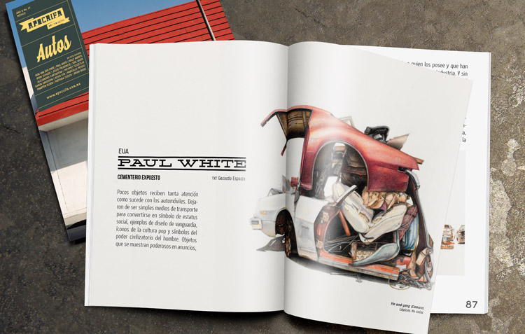 Paul White, Apócrifa Art Magazine
