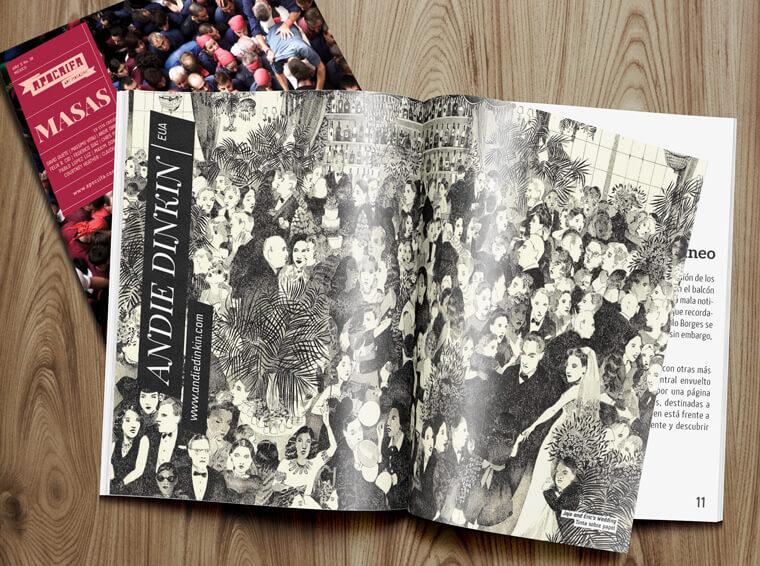 Andie Dinkin, Apócrifa Art Magazine