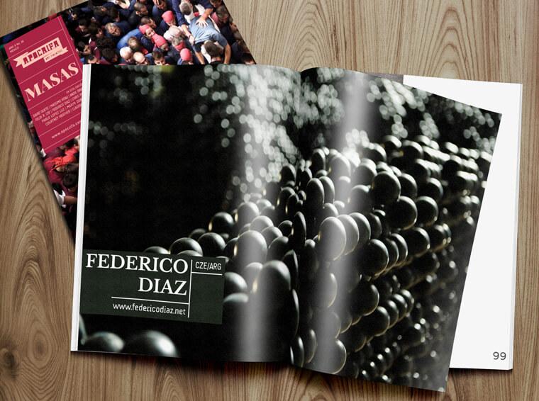 Federico Díaz, Apócrifa Art Magazine