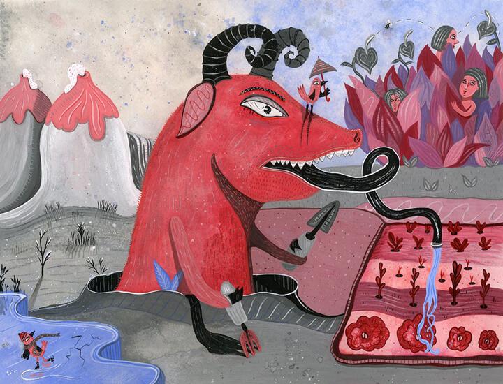 Apócrifa Art Magazine Natalie Bochenska