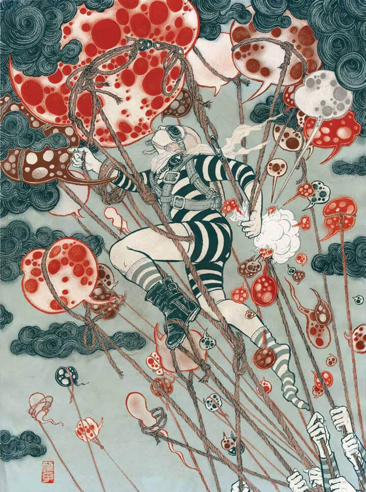 Apócrifa Art Magazine Yuko Shimizu