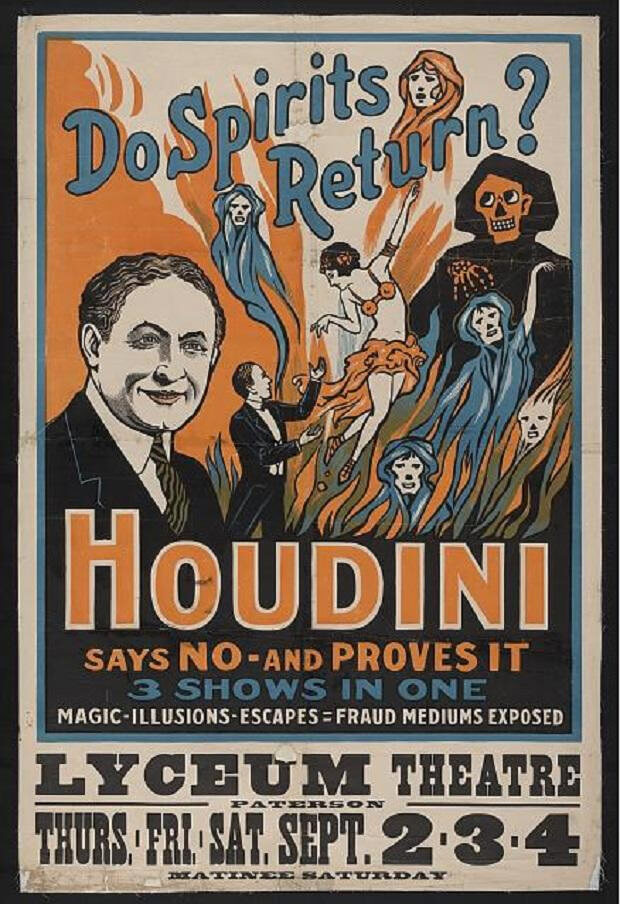 Apócrifa Art Magazine, Harry Houdini