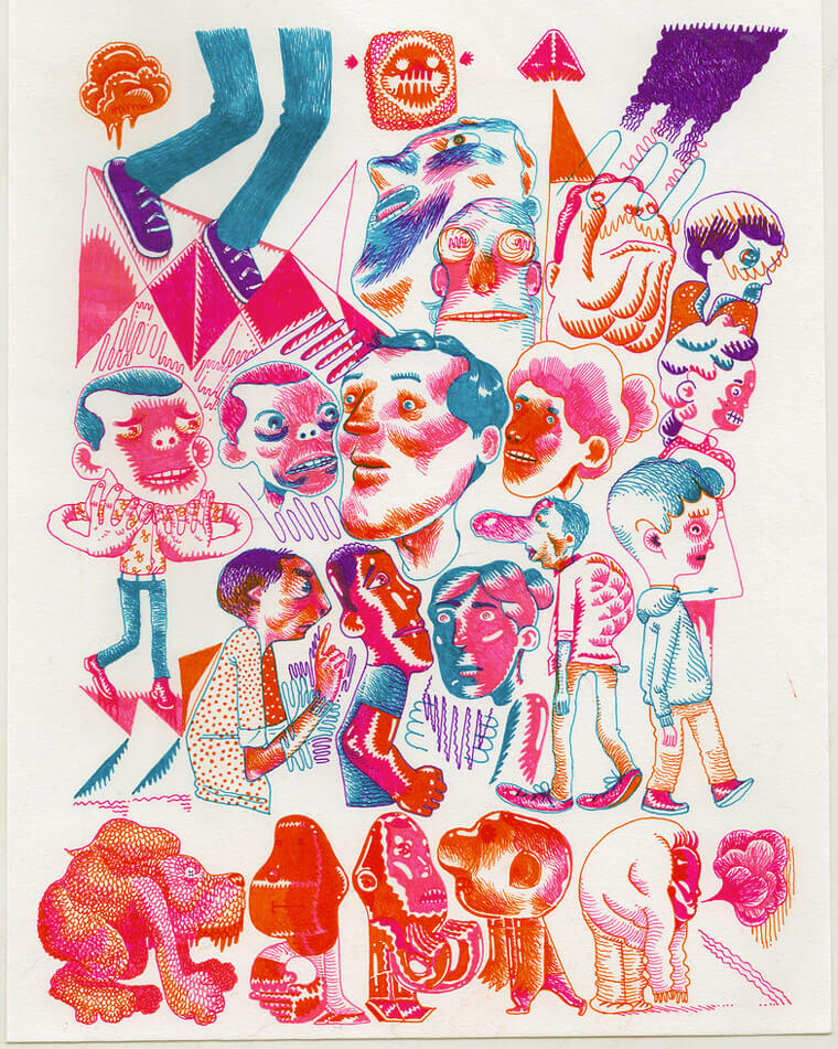 Apócrifa Art Magazine, Joseph Lambert