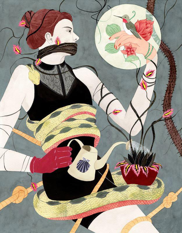 Apócrifa Art Magazine, Luisa Rivera