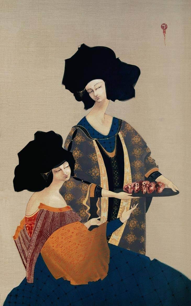 Hayv Kahraman, Apócrifa Art Magazine