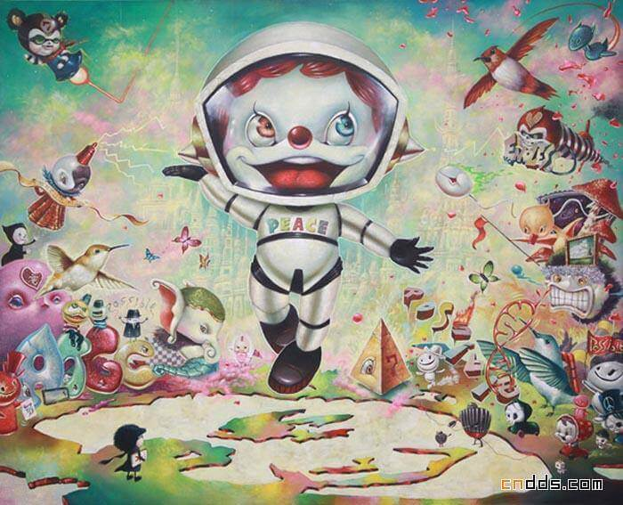 Yosuke Ueno, Apócrifa Art Magazine