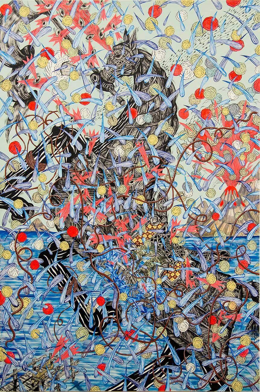 Andrew Schoultz, Apócrifa Art Magazine