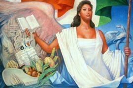 México es mujer, la patria