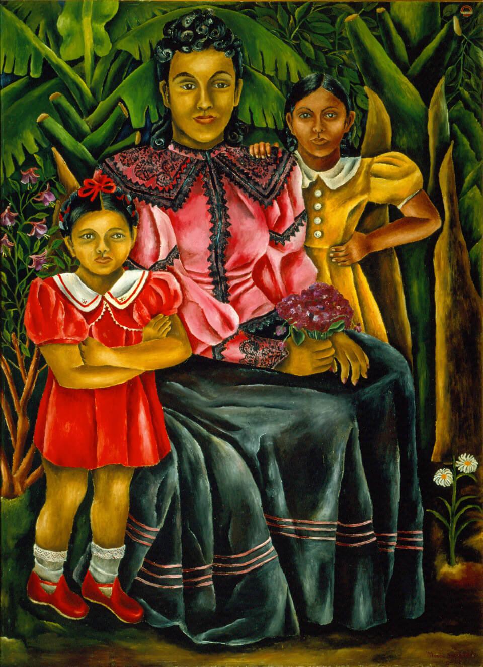 México es mujer, mis sobrinas