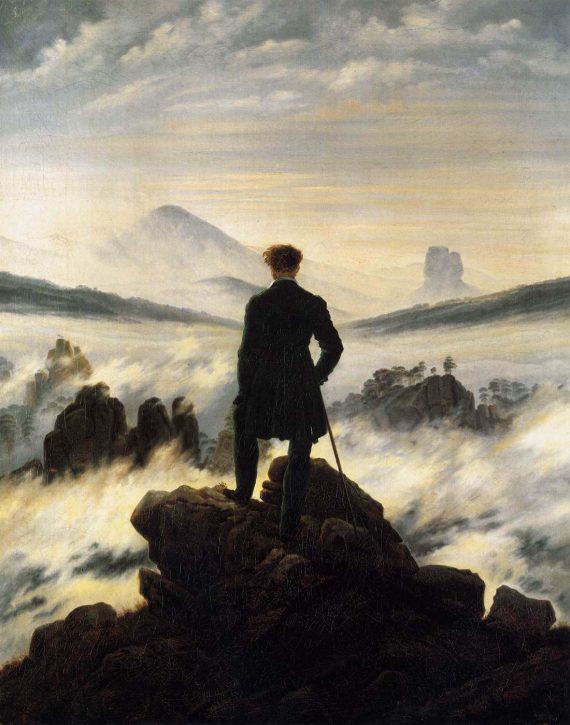 Naturaleza Romanticismo, Caspar David Friedrich