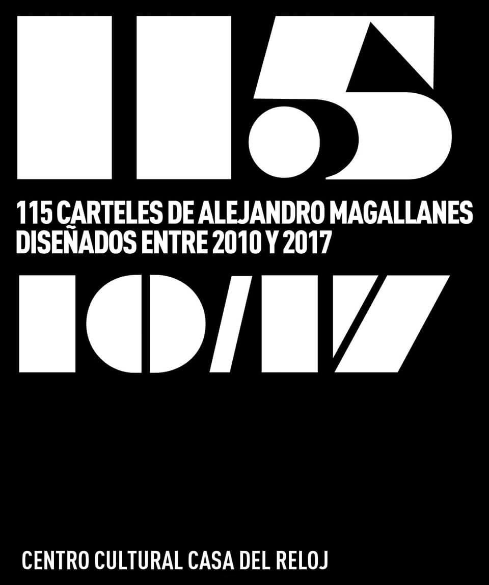 115 carteles Alejandro Magallanes