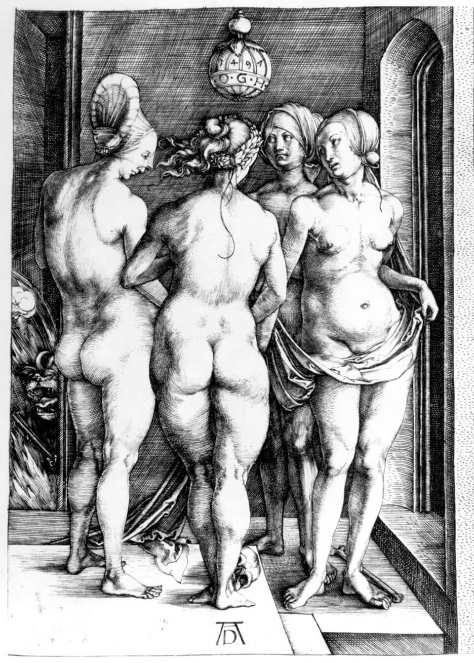 Apócrifa Art Magazine, Brujas, Cuatro brujas