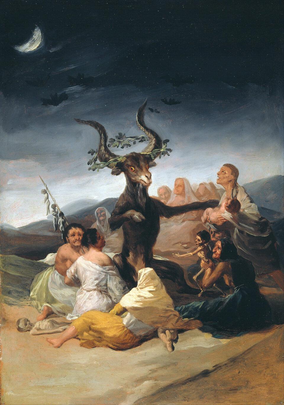Apócrifa Art Magazine, Brujas, El aquelarre