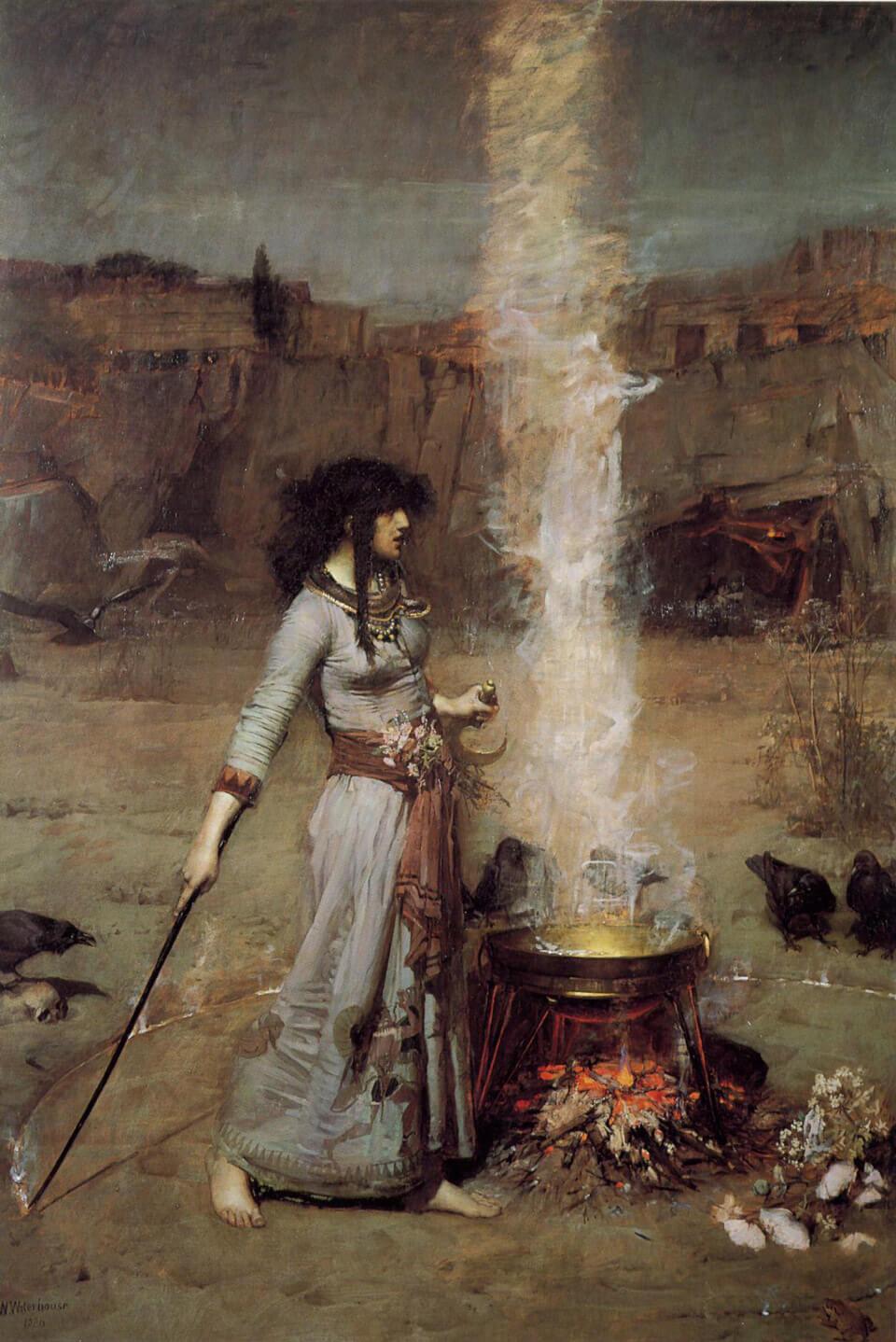 Apócrifa Art Magazine, Brujas, El círculo mágico