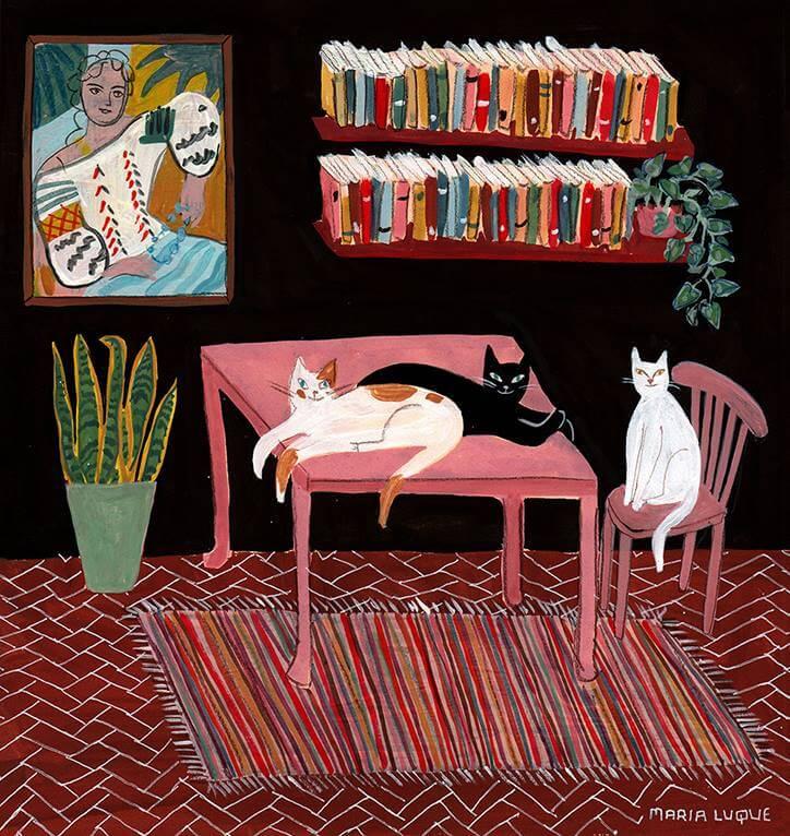 María Luque, Apócrifa Art Magazine