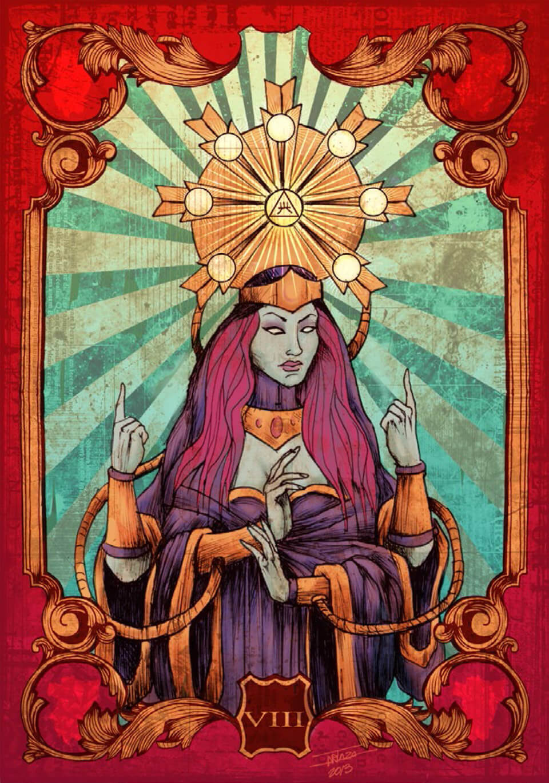 Mito, realidad y sueño, ilustración