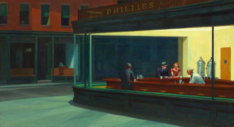 Nightwalks, Edward Hopper