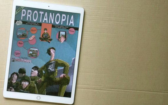 Protanopia comic app