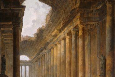 The old temple, Hubert Robert