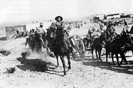El corrido revolucionario, Villa a caballo