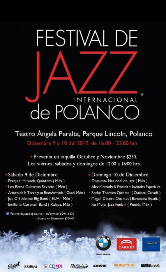 Agenda Cultural Jazz de Polanco