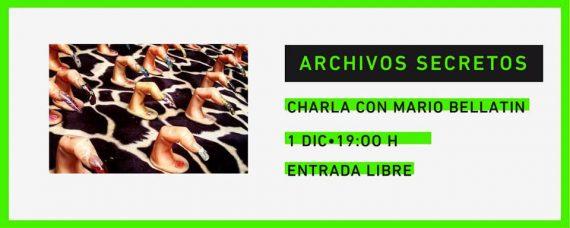 Archivos secretos, agenda cultural