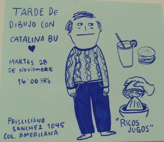 Ilustración Catalina Bu