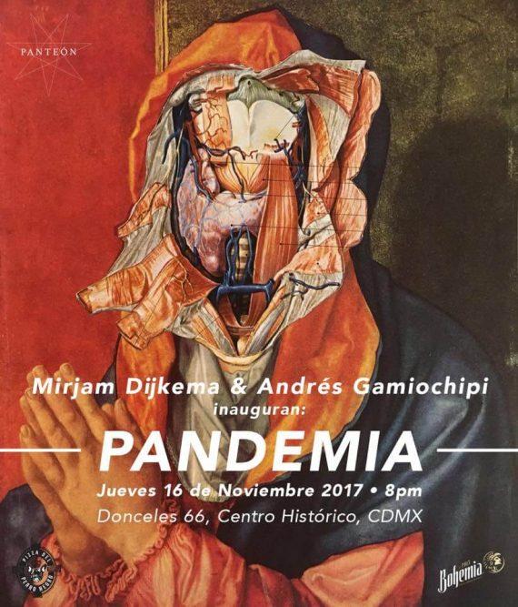 Pandemia, Centro cultural panteón
