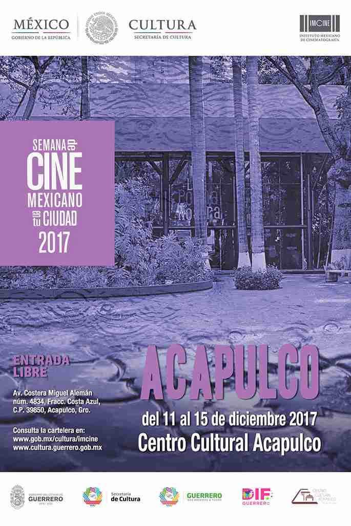 Semana de cine mexicano Acapulco