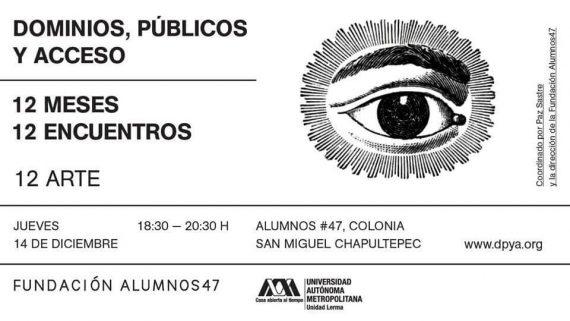 Agenda cultural, dominios, públicos