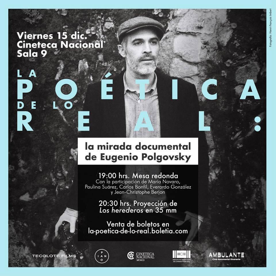Agenda cultural, Eugenio Polgovsky