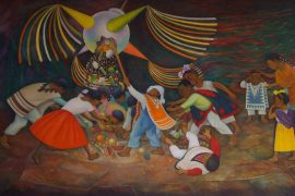 La piñata, Diego Rivera
