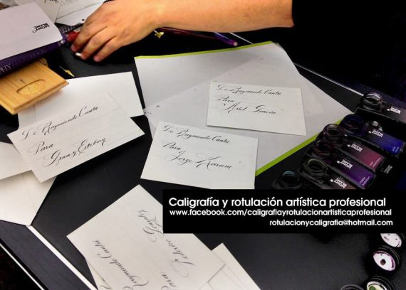 Agenda cultural, taller caligrafía