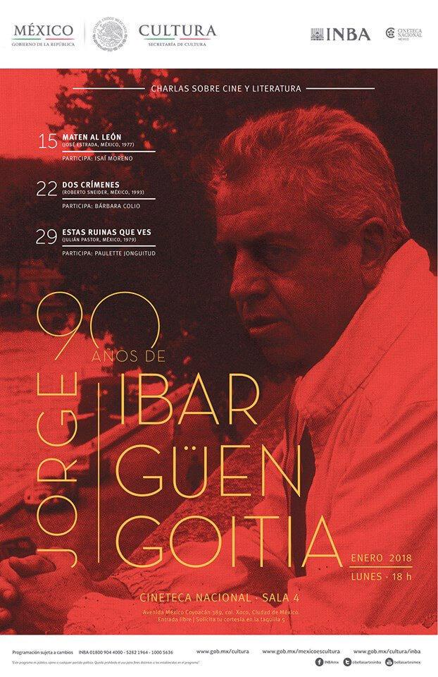 Agenda cultural, Jorge Ibargüengoitia