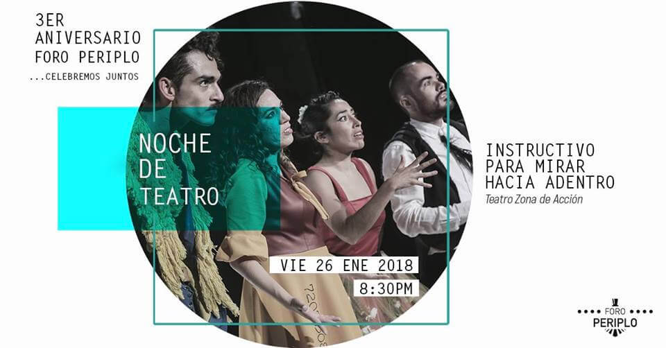 Agenda cultural, Noche de teatro