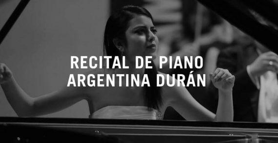 Agenda cultural, recital piano