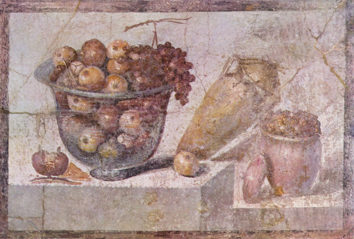 Tiempo, bodegón romano