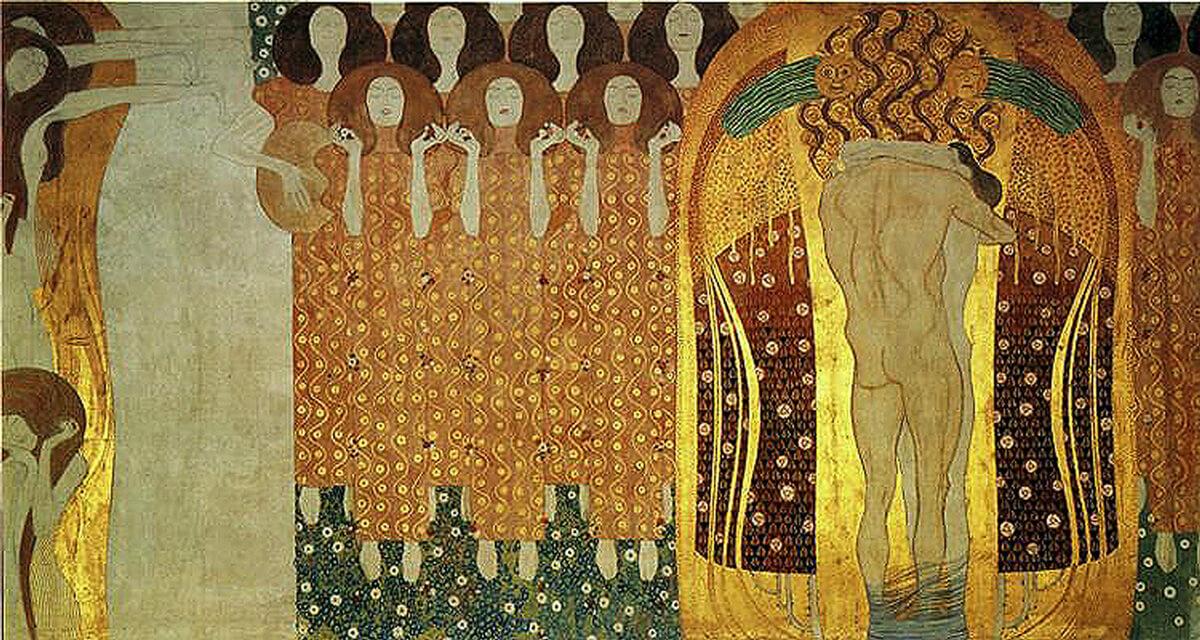 El oro de Klimt, Friso de Beethoven