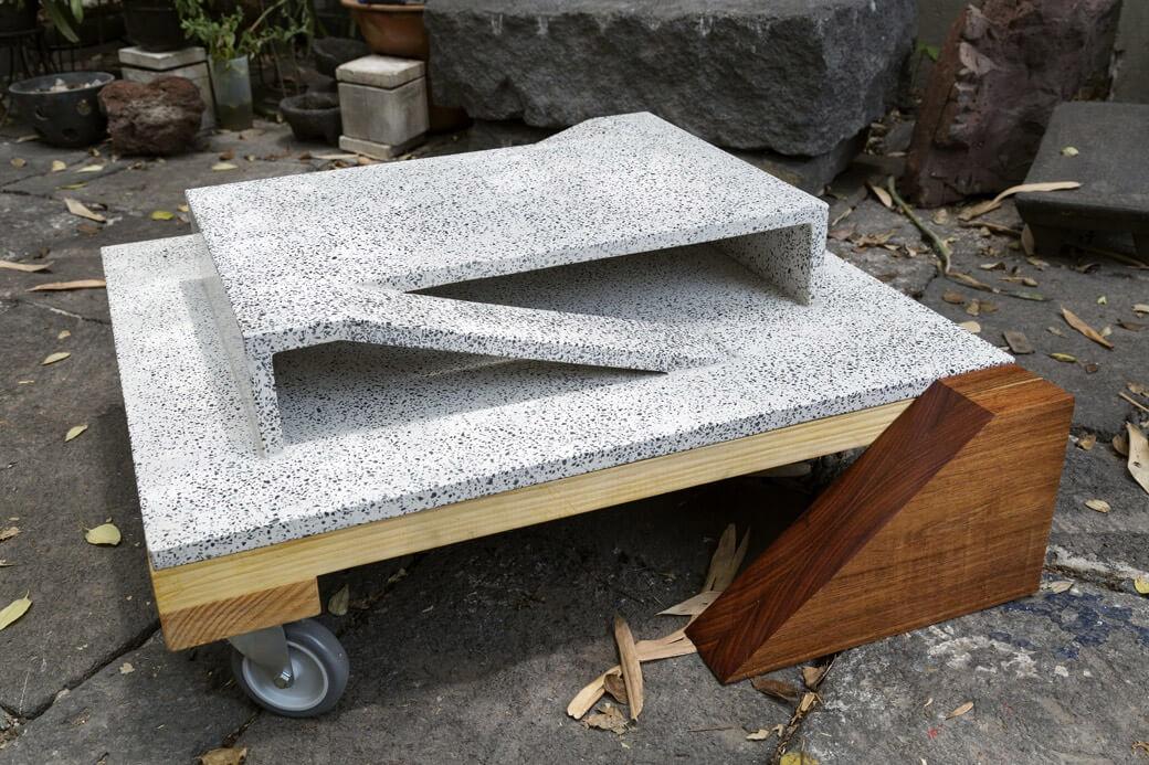 Diego Pérez, estacionamientos imaginarios, escultura