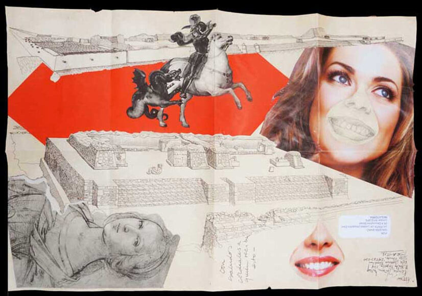 Concomitancia (2013), collage.