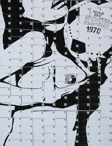Arriba y abajo (1970), tinta sobre papel.
