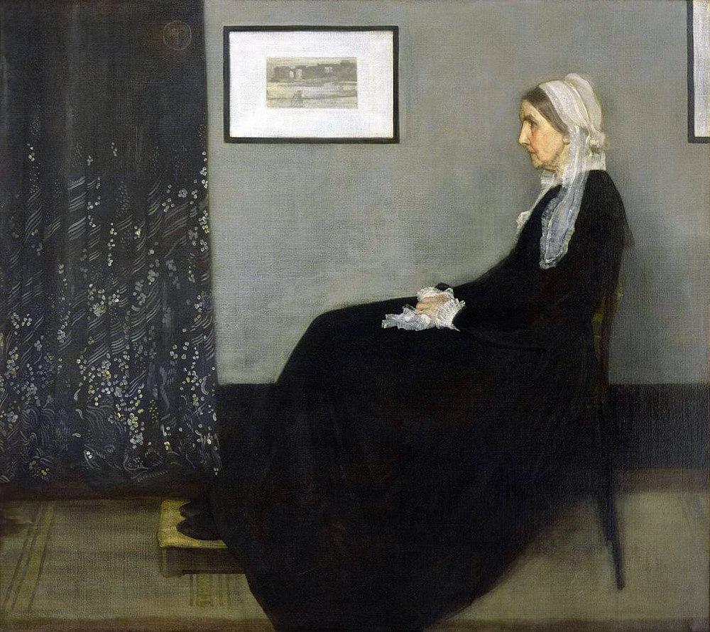 Mater - James McNeill Whistler - Arte Contemporáneo