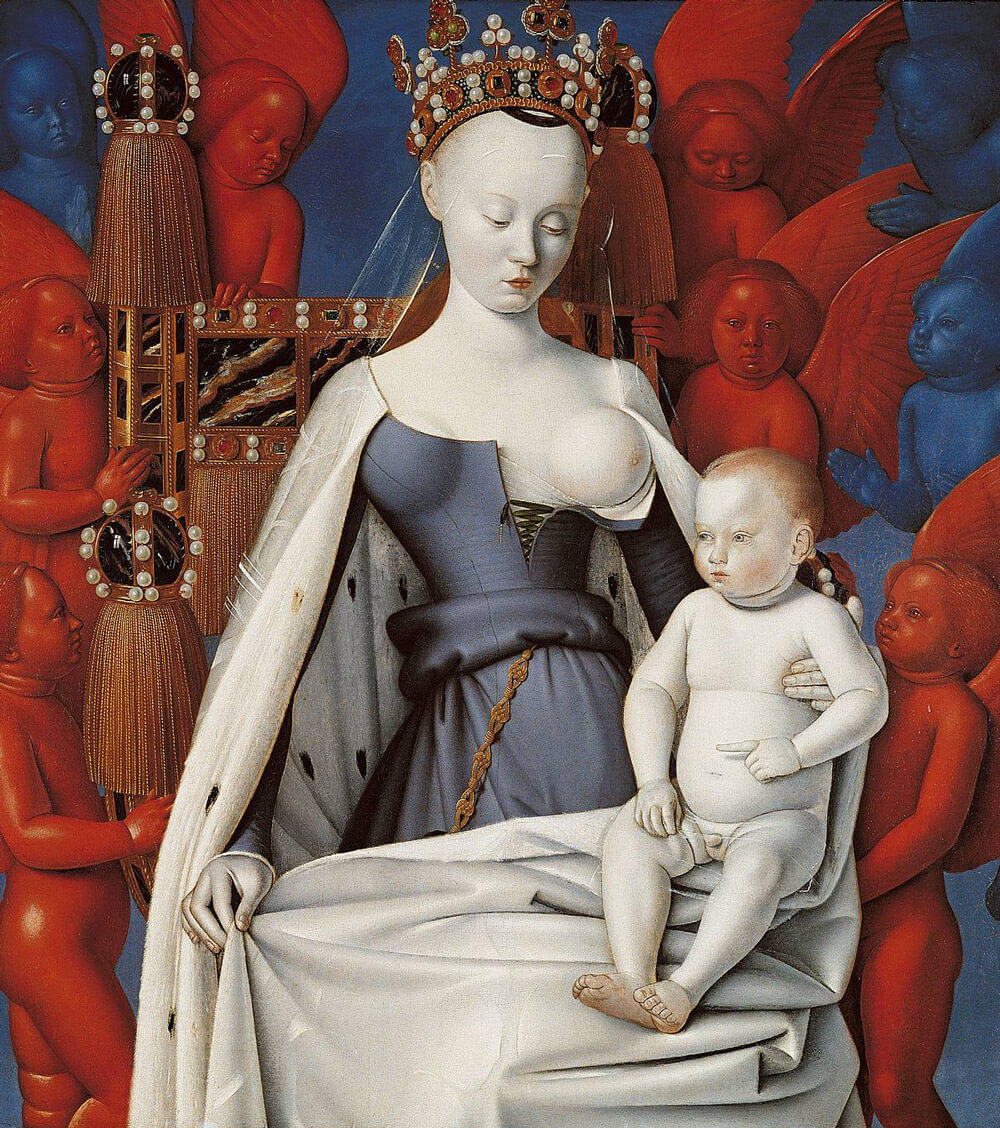 Mater - Jean Fouquet - Arte Contemporáneo