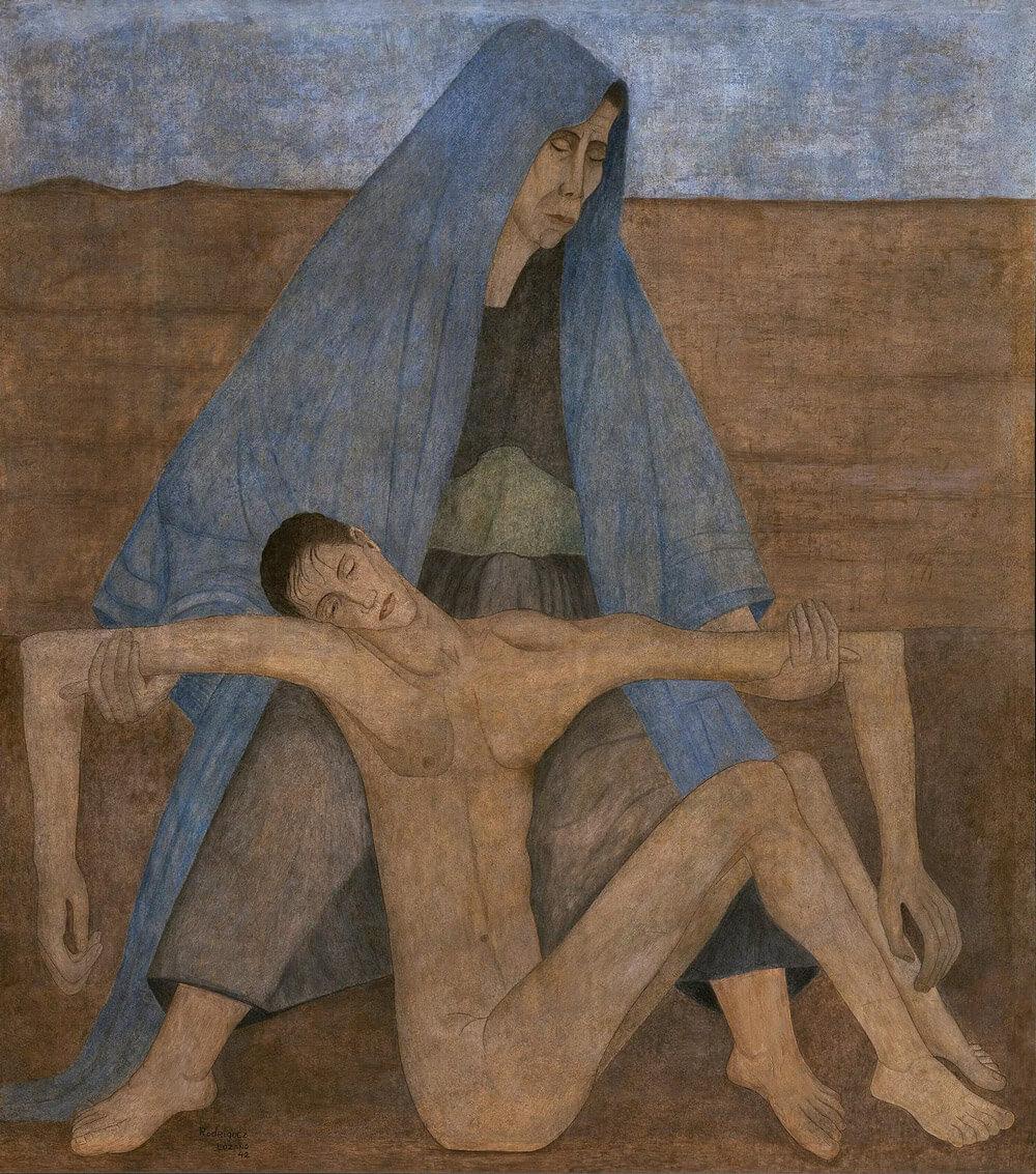 Mater - Manuel Rodríguez Lozano - Arte Contemporáneo